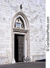 Portal of the church, Cividale del Friuli - Italy
