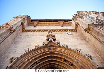 Portal of the Oviedo's Cathedral, Asturias -Spain