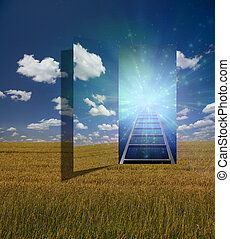 Portal - Open portal to another dimension