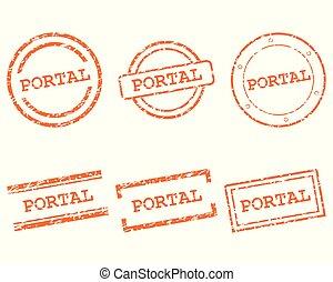 Portal stamps