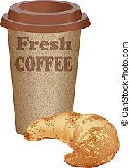 portar via, caffè