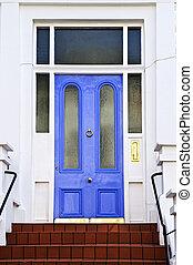 porte bleue, londres