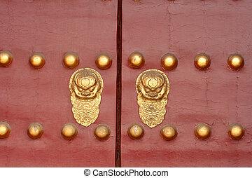 porte, chinois