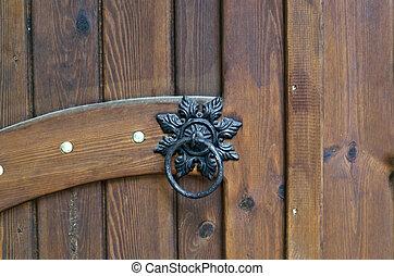 porte, décoration