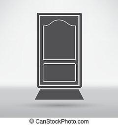 porte, icônes