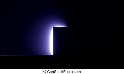 porte, vie mort, clair, épiphanie, 4k, lumière, nouveau, ouvert, occasion