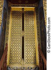 porte, wat, ratchanatdaram, temple
