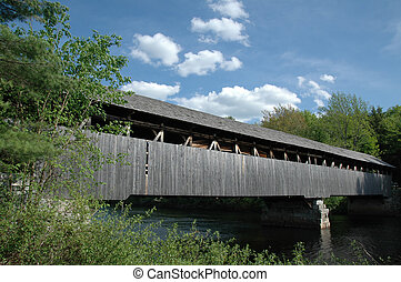 Porter-Parsonsfield Covered Bridge - Covered bridge on the ...
