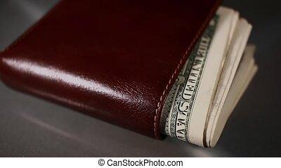 portfel, dolary