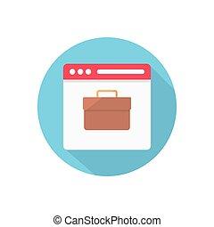 portfolio  flat color icon