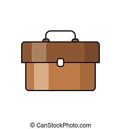 portfolio line flat icon