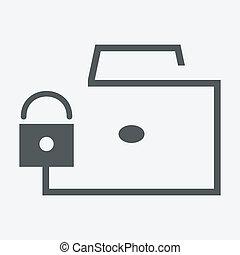 portfolio on the lock icon