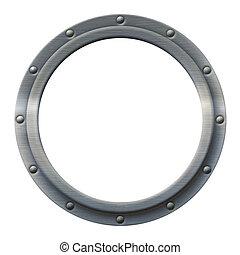 Porthole Iron - Iron porthole that can be imaged with any...