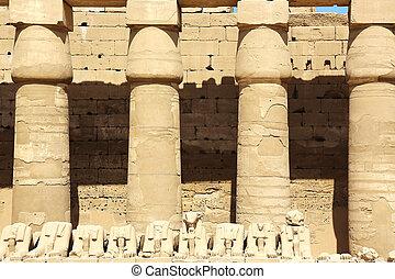 Portico First Courtyard Karnak