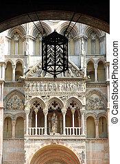 Portico in square of Dome - Ferrara - Italy