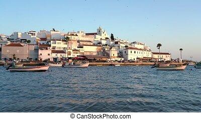 portimao, feragudo., algarve, village, portugal, historique...