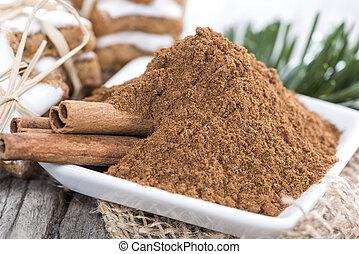 Portion of Cinnamon (macro shot)