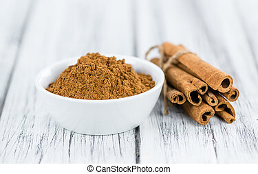 Portion of Cinnamon - Portion of fresh made Cinnamon...