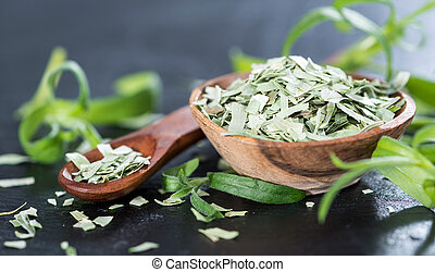 Portion of dried Tarragon - Small portion of dried Tarragon...