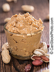 Portion of Peanut Butter in a small bowl