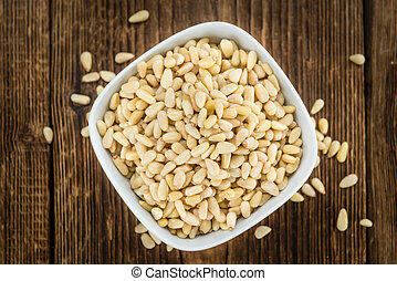 Portion of Pine Nuts