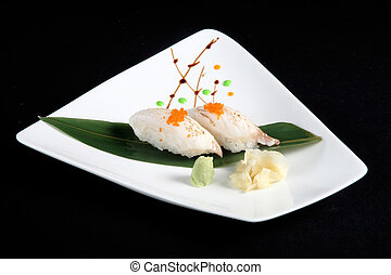 portion of sushi i