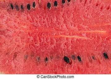 Portion of Watermelon with isolated background