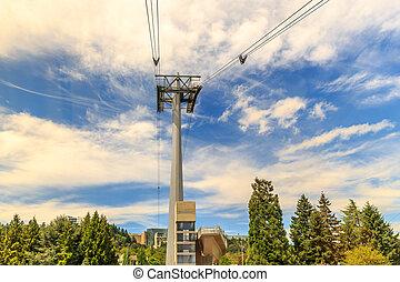 Portland Aerial Tram Tower