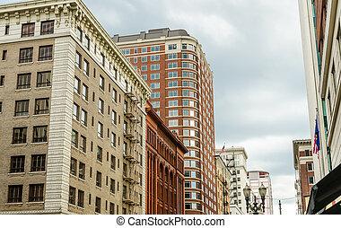 Portland Downtown View