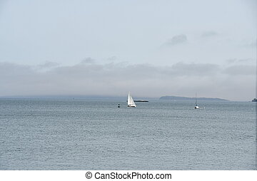 Portland Harbor in Maine
