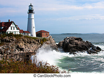 Portland Head Light Morning 2