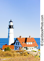 Portland Head Lighthouse, Maine, USA