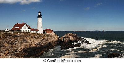 Portland Head Lighthouse - Daytime shot of Portland Head...