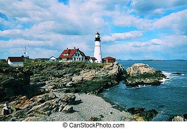 Portland Headlight - Portland Head Light Lighthouse
