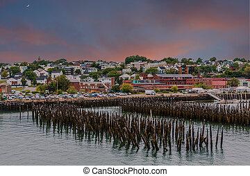 Portland Maine at Dawn