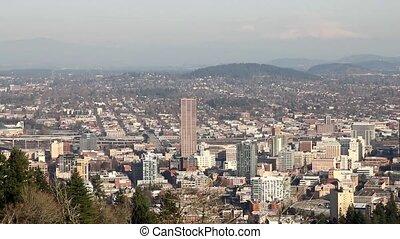 Portland Oregon Cityscape