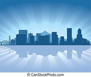 portland, skyline