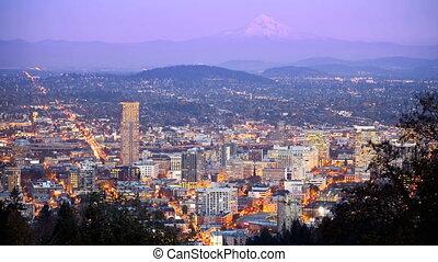 Portland Time Lapse