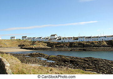 Portnahaven Village Islay Scotland - Portnahaven coastal...