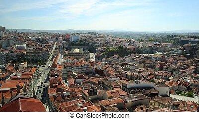 Porto aerial view