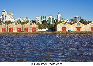 Porto Alegre Port - Porto Alegre - Rio Grande do Sul -...