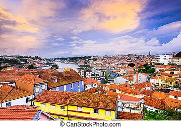 porto, aube, portugal