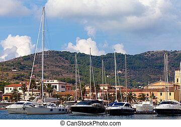 Porto Azzurro, Elba Island - General View