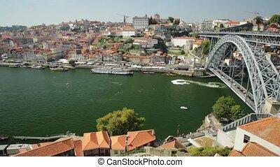 Porto Bridge time lapse