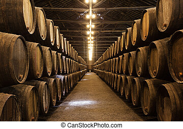 porto, cave, vin