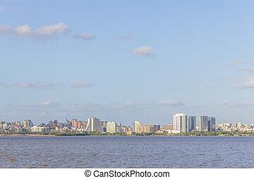 porto, centro, by, sol, alegre, anfiteatro, cityview, administrativo
