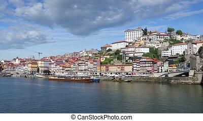 Porto city at sunny day - Porto city view at sunny summer...