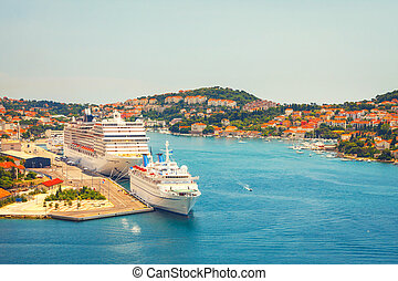 porto , croatia., dubrovnik., ansicht