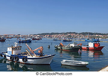 Porto do xufre, Illa de Arousa, Pontevedra province, Galicia, Spain