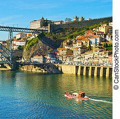 porto, douro, portugal, rivière